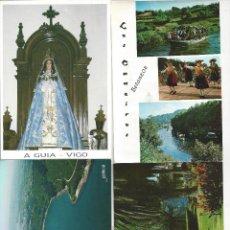 Cartes Postales: LOTE 4 POSTALES GALICIA VARIAS. Lote 230583735