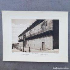Postales: GRAN FOTOGRAFIA/FOTOTIPIA IMPRESA FACHADA HOSPITAL REAL,SANTIAGO DE COMPOSTELA FOTO OTTO WUNDERLICH,. Lote 230645215