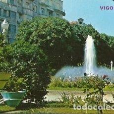 Cartes Postales: POSTAL A COLOR 126 VIGO PLAZA COMPOSTELA FUENTE EDICIONES PARIS 1973. Lote 231000340