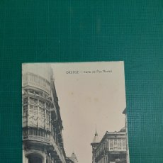 Postales: ORENSE CALLE DE PAZ NOVOA MOD3STO MOURE CASTAÑEIRA Y ÁLVAREZ MADRID. Lote 231811205