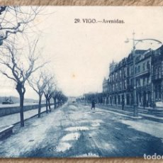 Cartoline: VIGO N° 29 (PONTEVEDRA) - AVENIDAS - AÑO 1830 - MATASELLOS AMBULANTE. Lote 231872325