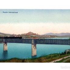 Cartes Postales: TUY.(PONTEVEDRA).- PUENTE INTERNACIONAL. FERROCARRIL.. Lote 232119795