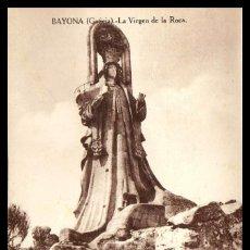 Postales: BAYONA. LA VIRGEN DE LA ROCA. TARJETA. POSTAL. ED. CARRASCO. BAIONA. PONTEVEDRA. GALICIA.. Lote 232418120