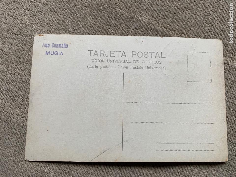 Postales: Foto Caamaño Mugia MUXIA Coruña circulada 17 junio 1919 - Foto 2 - 232824680