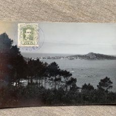Postales: FOTO CAAMAÑO MUGIA MUXIA CORUÑA CIRCULADA 17 JUNIO 1919. Lote 232824680