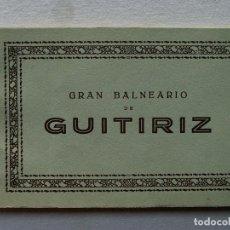 Postales: BLOC POSTALES-BALNEARIO GUITIRIZ GRAN HOTEL-LUGO. PRINCIPIOS 1900. HELOTIPIA DE KALLMEYER Y GAUTIER. Lote 233750615