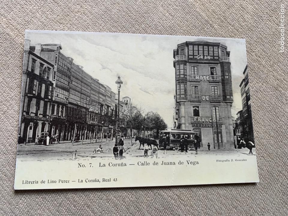 NO 7 LA CORUÑA CALLE JUANA DE VEGA (Postales - España - Galicia Antigua (hasta 1939))