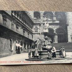 Postales: SANTIAGO DE CONPOSTELA PLAZUELA DE LAS PLATERIAS.. Lote 234020035