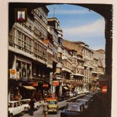 Cartes Postales: A CORUÑA - CALLE RIEGO DE AGUA - SEAT 850 - P42605. Lote 234782785