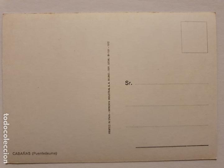 Postales: PONTEDEUME / PUENTEDEUME - CABAÑAS - CORUÑA - P42620 - Foto 2 - 234783875