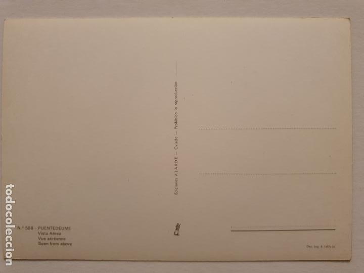 Postales: PONTEDEUME / PUENTEDEUME - VISTA AÉREA - CORUÑA - P42621 - Foto 2 - 234783900