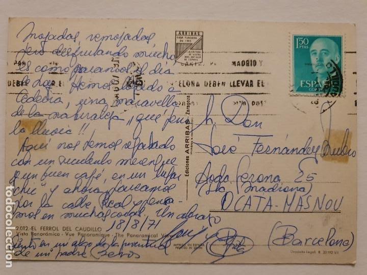 Postales: FERROL - VISTA PANORÁMICA - CORUÑA - P42622 - Foto 2 - 234783925