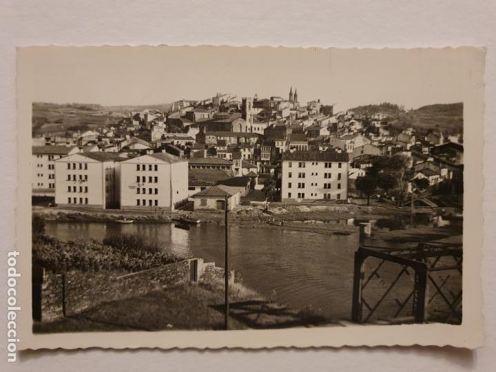 BETANZOS - VISTA PARCIAL Y RÍO MANDEO - CORUÑA - P42632 (Postales - España - Galicia Moderna (desde 1940))