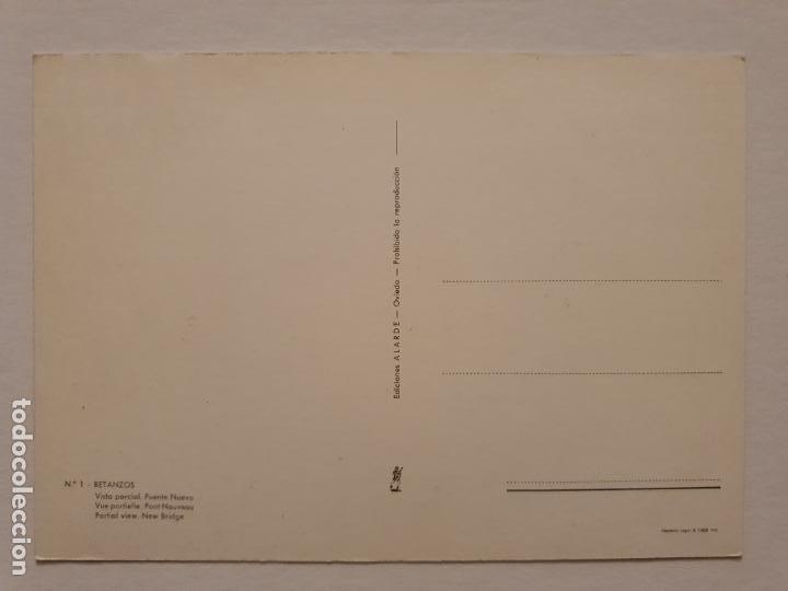 Postales: BETANZOS - VISTA PARCIAL Y PUENTE NUEVO - CORUÑA - P42633 - Foto 2 - 234784320
