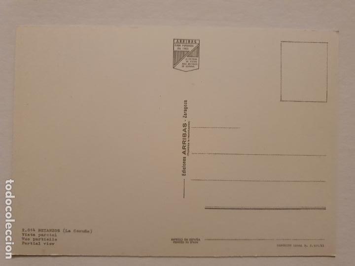 Postales: BETANZOS - VISTA PARCIAL - CAMIÓN - CORUÑA - P42634 - Foto 2 - 234784330
