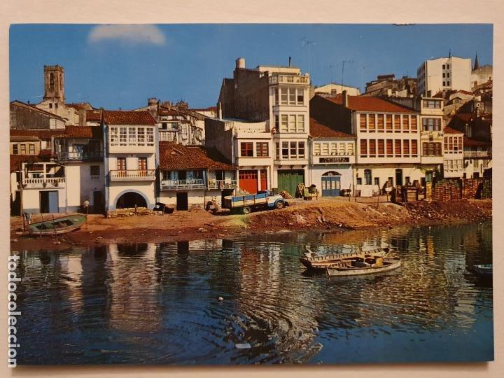 BETANZOS - VISTA PARCIAL - CAMIÓN - CORUÑA - P42634 (Postales - España - Galicia Moderna (desde 1940))