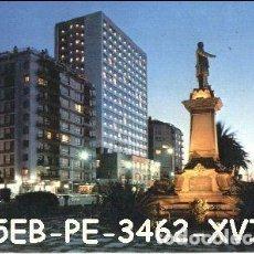 Postais: POSTAL VIGO MONUMENTO ELDUAYEN Y HOTEL BAHÍA PERLA Nº3462/55EB AÑOS 70*. Lote 234961620