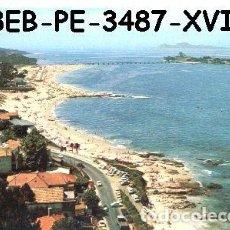 Postais: POSTAL VIGO PLAYA DE CANIDO E ISLA DE TORAYA PERLA Nº3487/15A/58EB AÑOS 70*. Lote 234962530