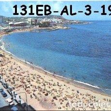 Postales: POSTAL CORUÑA PLAYA DE RIAZOR Y ESTADIO EDIT. ALARDE Nº 3/131EB AÑO 1971*. Lote 296883748