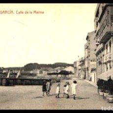 Postales: VILLAGARCIA. CALLE DE LA MARINA. POSTAL.THOMAS. ED. ECO DE AROSA Nº 12. PONTEVEDRA. GALICIA.. Lote 235174740