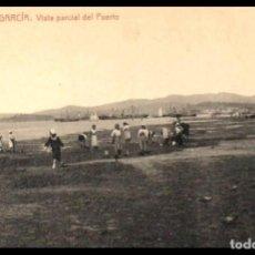 Postales: VILLAGARCIA. VISTA PARCIAL DEL PUERTO. POSTAL.THOMAS. ED. ECO DE AROSA Nº 11. PONTEVEDRA. GALICIA.. Lote 235176155