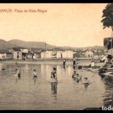 Postales: VILLAGARCIA. PLAYA DE VISTA ALEGRE. POSTAL.THOMAS. ED. ECO DE AROSA Nº 10. PONTEVEDRA. GALICIA.. Lote 235176465