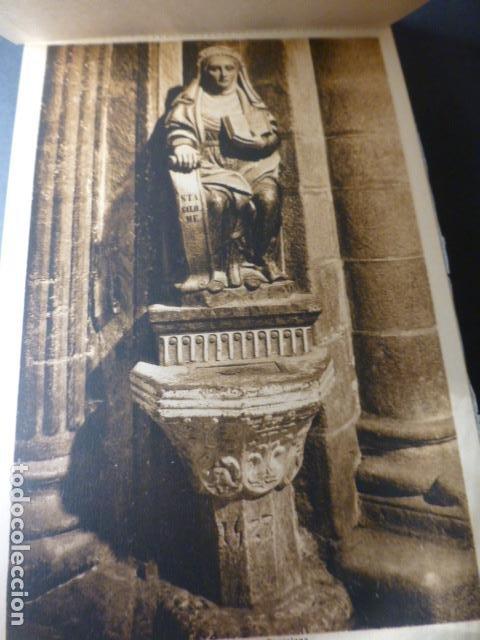 Postales: SANTIAGO DE COMPOSTELA CATEDRAL CUADERNO 20 POSTALES L. ROISIN - Foto 3 - 236056650