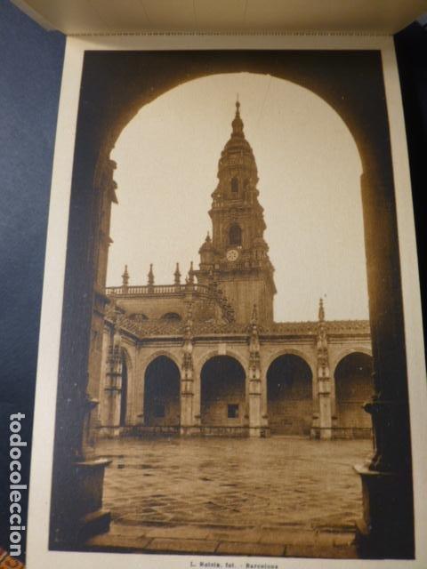 Postales: SANTIAGO DE COMPOSTELA CATEDRAL CUADERNO 20 POSTALES L. ROISIN - Foto 4 - 236056650