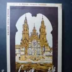 Postales: SANTIAGO DE COMPOSTELA CATEDRAL CUADERNO 20 POSTALES L. ROISIN. Lote 236056650