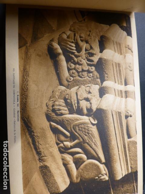 Postales: SANTIAGO DE COMPOSTELA CATEDRAL CUADERNO 20 POSTALES L. ROISIN - Foto 5 - 236056650