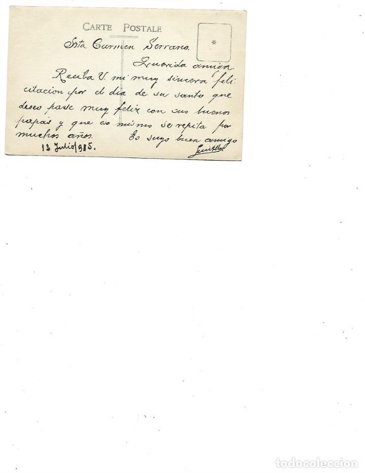 Postales: ANTIGUA POSTAL DE LA CORUÑA CASTILLO DE SANTA CRUZ CIRCULADA FOTO FERRER - Foto 2 - 236100555