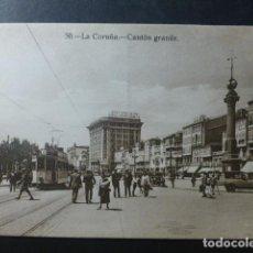 Postales: LA CORUÑA CANTON GRANDE. Lote 236190515
