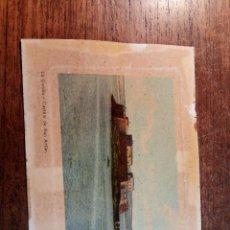 Postales: TARJETA POSTAL DE LA CORUÑA - CASTILLO DE SAN ANTÓN. Lote 236728015