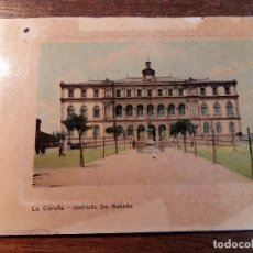Postales: TARJETA POSTAL DE LA CORUÑA - INSTITUTO DE A GUARDA. Lote 236728470
