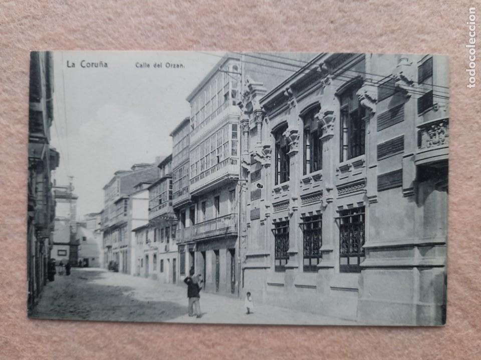 LA CORUÑA. CALLE DEL ORZÁN. (Postales - España - Galicia Antigua (hasta 1939))
