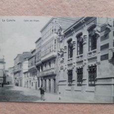Postales: LA CORUÑA. CALLE DEL ORZÁN.. Lote 237143740