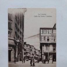 Postales: LA CORUÑA. CALLE DE SANTA CATALINA.. Lote 237337055
