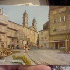 Postales: VIGO PLAZA VILLAVICENCIO ED PERGAMINO 13131 CIRCVLADA GALICIA. Lote 237373225