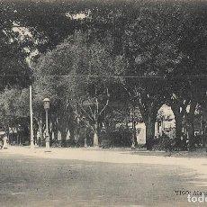 Postales: POSTAL ANTIGUA DE VIGO; LA ALAMEDA, 1934. Lote 237411120