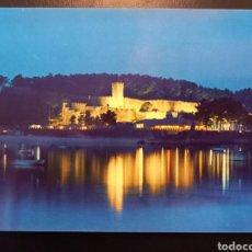 Postales: POSTAL DE. BAYONA LA REAL. CASTILLO DE MONTERREAL.NOCTURNA. PONTEVEDRA.. Lote 237445515