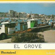 Postales: O GROVE. PUERTO. Lote 237502275