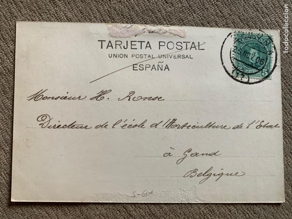 Postales: La Coruña -Baños de Riazor No 86 circ. 25 nov 1906 - Foto 2 - 238080065