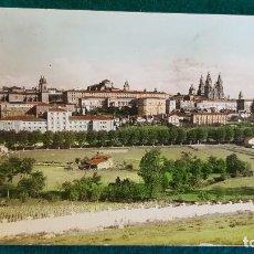 Cartes Postales: POSTAL VISTA PARCIAL DE SANTIAGO DE COMPOSTELA. Lote 240345820