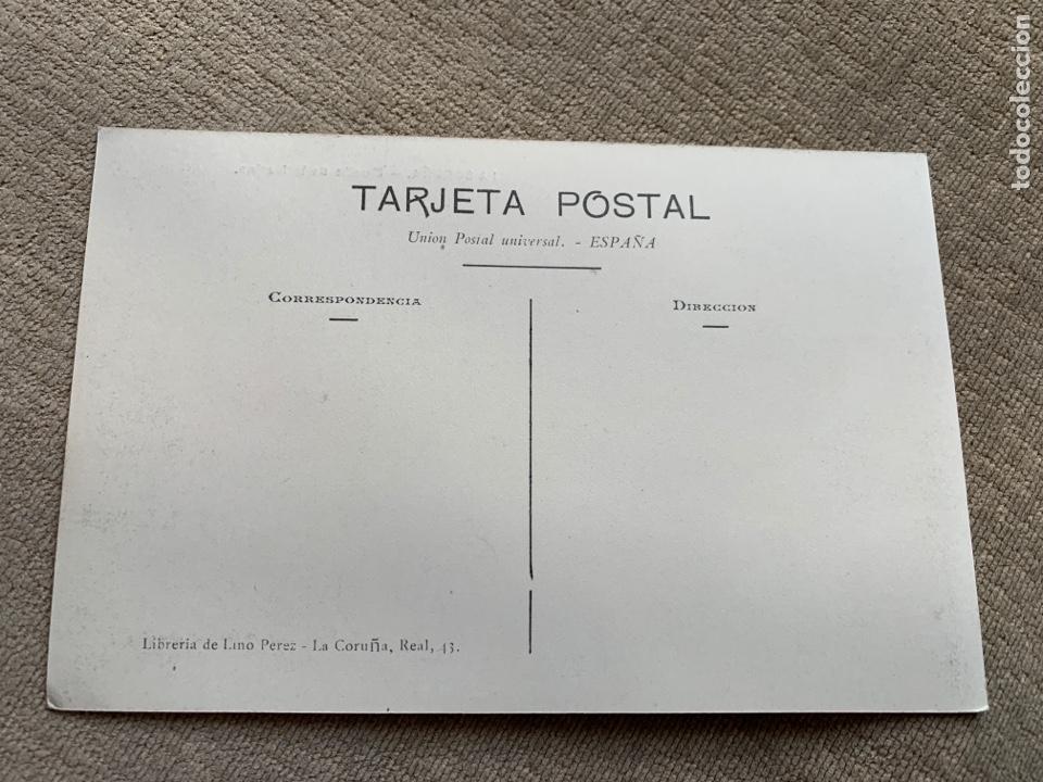 Postales: La Coruña Muelle de la Marina.libreria Lino Perez - Foto 2 - 241909335