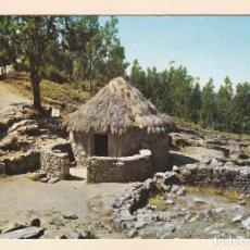 Cartes Postales: POSTAL POBLADO CELTA. MONTE SANTA TECLA. LA GUARDIA. PONTEVEDRA (1986) - POSTALES FAMA. Lote 243234870