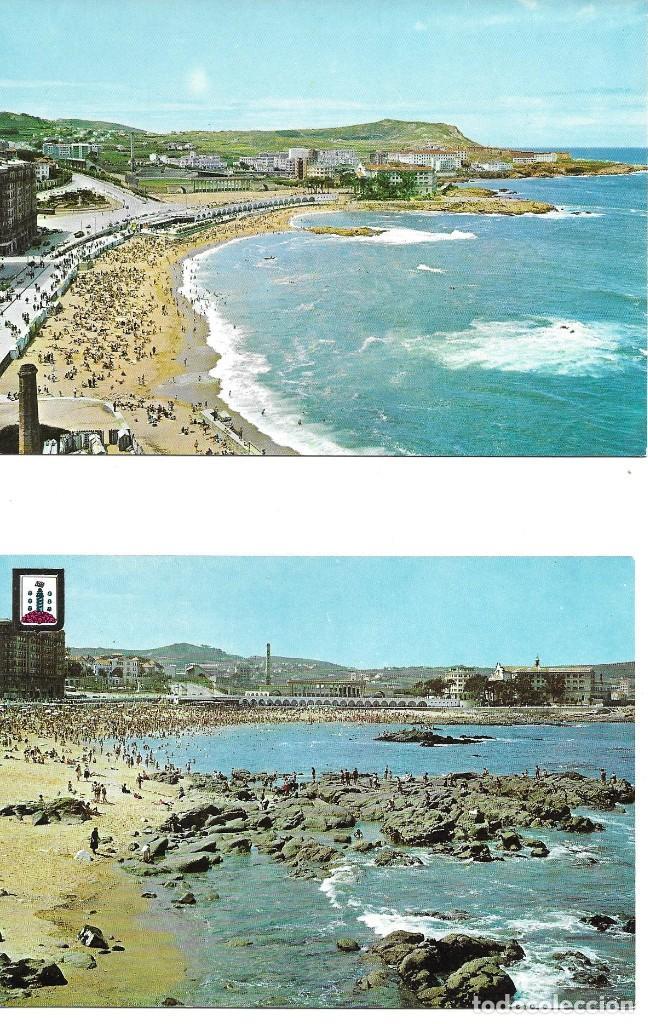 Postales: LOTE 10 POSTALES LA CORUÑA GALICIA - Foto 2 - 243433215