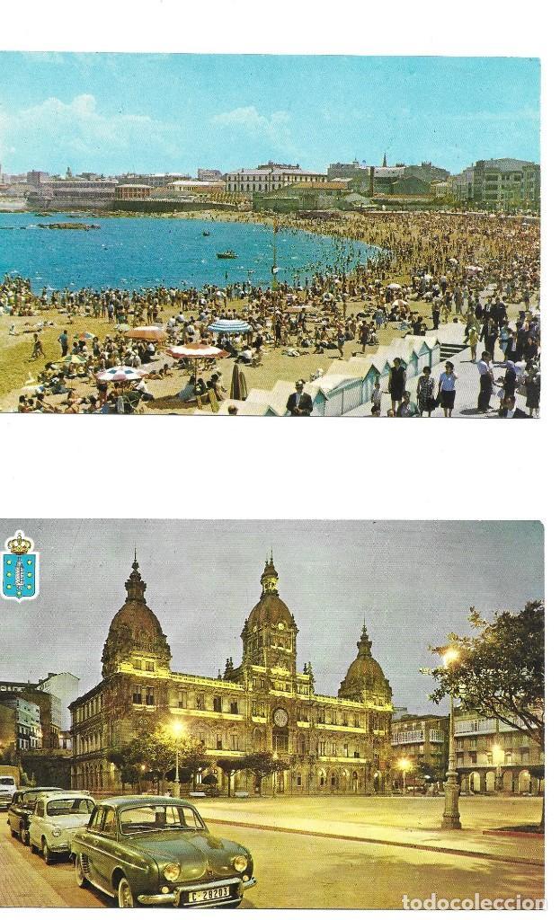 Postales: LOTE 10 POSTALES LA CORUÑA GALICIA - Foto 3 - 243433215