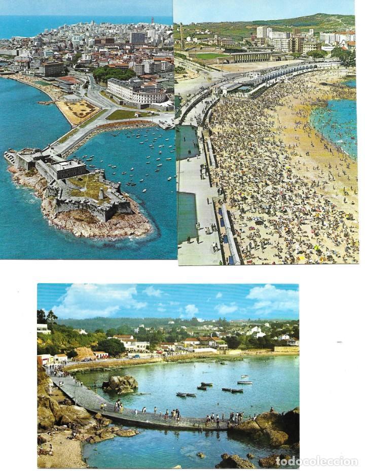 Postales: LOTE 10 POSTALES LA CORUÑA GALICIA - Foto 4 - 243433215