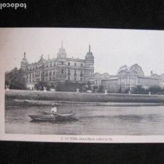 Postales: LA TOJA-GRAN HOTEL SOBRE LA RIA-ROISIN-2-POSTAL ANTIGUA-(77.748). Lote 244417925