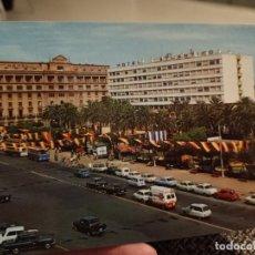 Postales: CORUÑA CANTON GRANDE JARDINEZ MENDEZ NUÑEZ ARRIBAS 2093 SC COCHES CLASICOS. Lote 244576795